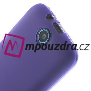 Gelové pouzdro na HTC Desire 310- fialové - 4