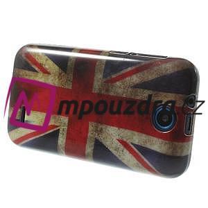 Gelové pouzdro na HTC Desire 310- UK vlajka - 4