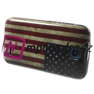 Gelové pouzdro na HTC Desire 310- USA vlajka - 4
