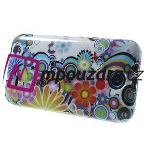 Gelové pouzdro na HTC Desire 310- barevné květy - 4