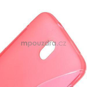 Gelové pouzdro pro HTC Desire 500- růžové - 4