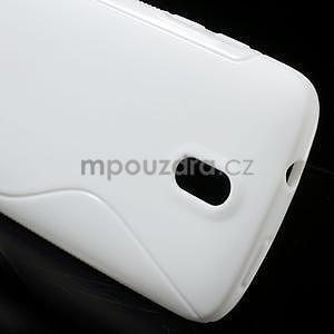 Gelové pouzdro pro HTC Desire 500- bílé - 4