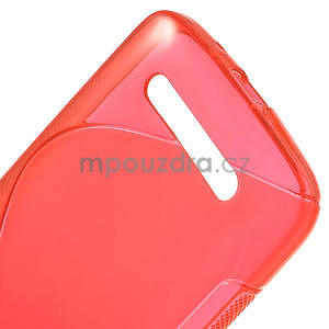 Gelové pouzdro pro HTC Desire 500- červené - 4