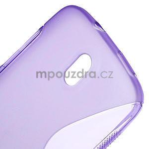 Gelové pouzdro pro HTC Desire 500- fialové - 4