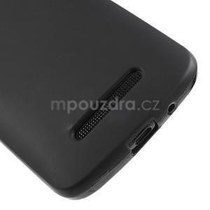 Gelové matné pouzdro pro HTC Desire 500- černé - 4
