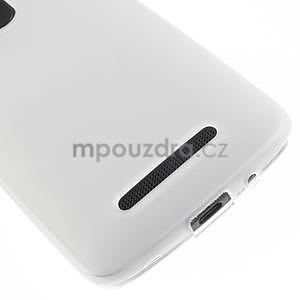 Gelové matné pouzdro pro HTC Desire 500- bílé - 4