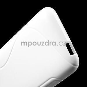 Gelove S-line pouzdro pro HTC Desire 601- bílé - 4