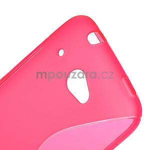 Gelove S-line pouzdro pro HTC Desire 601- růžové - 4