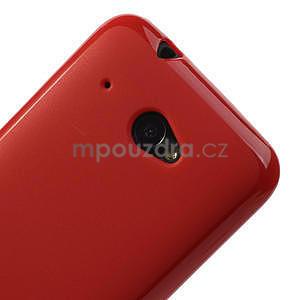 Gelové pouzdro pro HTC Desire 601- červené - 4