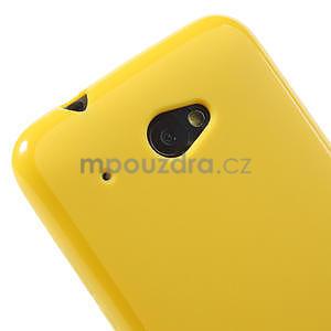 Gelové pouzdro pro HTC Desire 601- žluté - 4