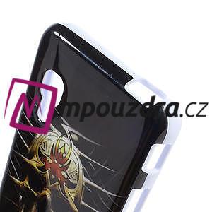 Gelová pouzdro pro LG Optimus L5 Dual E455- lebka - 4