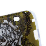 Gelová pouzdro pro LG Optimus L5 Dual E455- lebky - 4/5