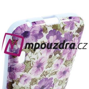 Gelová pouzdro pro LG Optimus L5 Dual E455- živé květy - 4