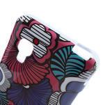 Gelová pouzdro pro LG Optimus L5 Dual E455- kreslené květy - 4/4
