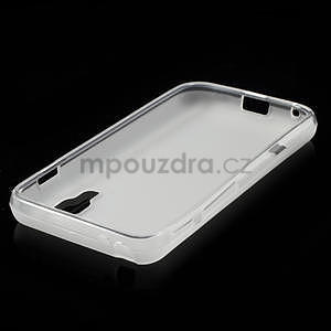 Matné gelové pouzdro pro LG Optimus L5 Dual E455- bílé - 4