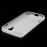 Matné gelové pouzdro pro LG Optimus L5 Dual E455- bílé - 4/4