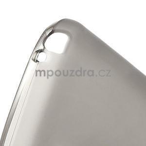 Matné gelové pouzdro pro LG Optimus L5 Dual E455- šedé - 4