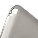 Matné gelové pouzdro pro LG Optimus L5 Dual E455- šedé - 4/4
