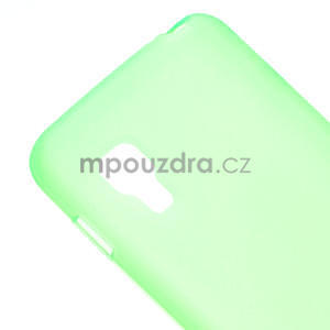 Matné gelové pouzdro pro LG Optimus L5 Dual E455- zelené - 4