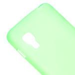 Matné gelové pouzdro pro LG Optimus L5 Dual E455- zelené - 4/6