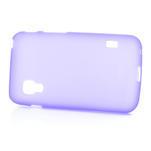 Matné gelové pouzdro pro LG Optimus L5 Dual E455-fialová - 4/4