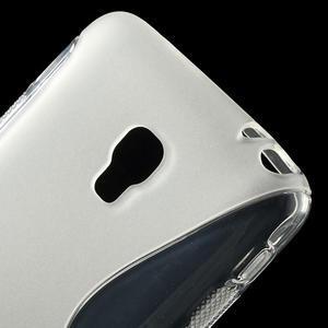 Gelové S-line pouzdro na LG Optimus F6 D505- transparentní - 4
