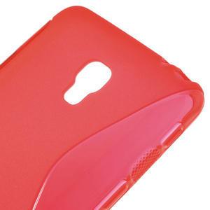 Gelové S-line pouzdro na LG Optimus F6 D505- červené - 4