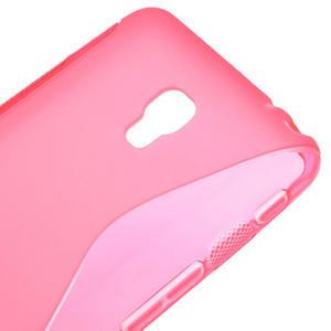 Gelové S-line pouzdro na LG Optimus F6 D505- růžové - 4