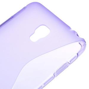 Gelové S-line pouzdro na LG Optimus F6 D505- fialové - 4