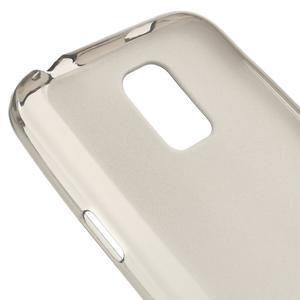 Gelové matné pouzdro na Samsung Galaxy S5 mini G-800- šedé - 4