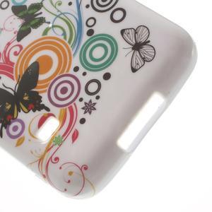 Gelové pouzdro na Samsung Galaxy S5 mini G-800- motýli - 4
