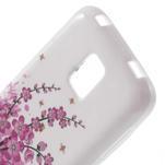 Gelové pouzdro na Samsung Galaxy S5 mini G-800- kvetoucí větvička - 3/4