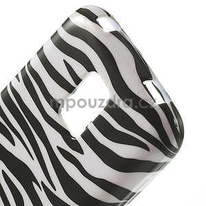 Gelové pouzdro na Samsung Galaxy S5 mini G-800- zebrovité - 4