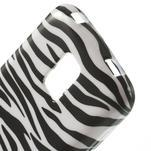 Gelové pouzdro na Samsung Galaxy S5 mini G-800- zebrovité - 4/5
