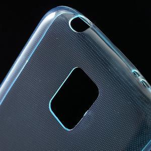 Gelové 0.6mm pouzdro na Samsung Galaxy S5 mini G-800- světlemodré - 4