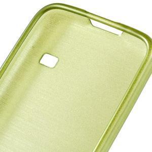 Kartáčové pouzdro na Samsung Galaxy S5 mini G-800- zelené - 4