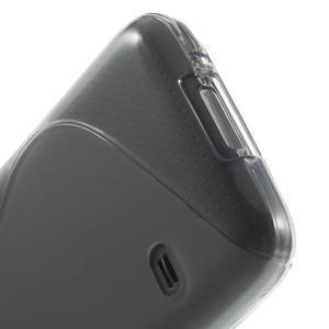 Gelové S-line pouzdro na Samsung Galaxy S5 mini G-800- šedé - 4