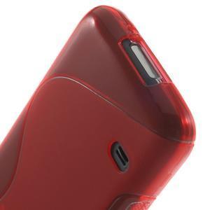Gelové S-line pouzdro na Samsung Galaxy S5 mini G-800- červené - 4
