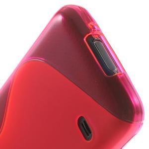 Gelové S-line pouzdro na Samsung Galaxy S5 mini G-800- růžové - 4
