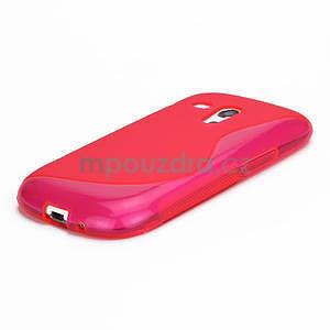 Růžové gelové pouzdro pro Samsung Galaxy S3 mini / i8190 - 4