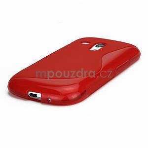 Červené gelové pouzdro pro Samsung Galaxy S3 mini / i8190 - 4