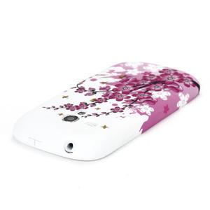 Gelové pouzdro pro Samsung Galaxy S3 mini i8190- květiny - 4