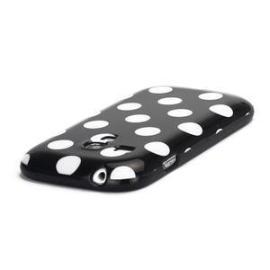 Gelové pouzdro PUNTÍK pro Samsung Galaxy S3 mini i8190- černé - 4