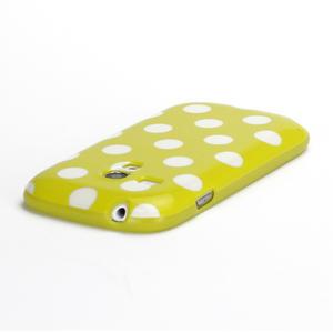 Gelové pouzdro PUNTÍK pro Samsung Galaxy S3 mini i8190- žluté - 4