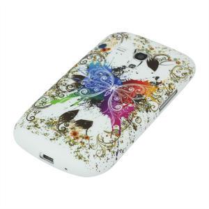 Gelové pouzdro pro Samsung Galaxy S3 mini i8190- motýl - 4