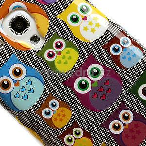 Gelové pouzdro pro Samsung Galaxy S3 mini / i8190 - mini Sovy - 4