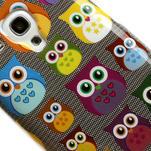 Gelové pouzdro pro Samsung Galaxy S3 mini / i8190 - mini Sovy - 4/5