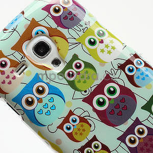 Gelové pouzdro pro Samsung Galaxy S3 mini / i8190 - mini Sovy II - 4