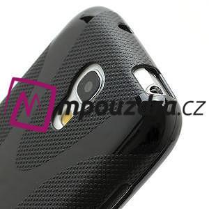 Gelové X pouzdro pro Samsung Galaxy S4 mini i9190- černé - 4