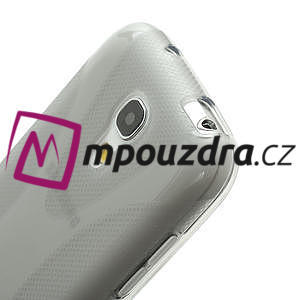 Gelové X pouzdro pro Samsung Galaxy S4 mini i9190- šedé - 4